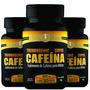 Combo Com 3 Termogenic Super Cafeína 370mg 30 Cápsulas Cada