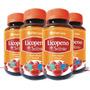 4 Licopenio + Selênio Total 240 Cápsulas 250mg Frete Grátis