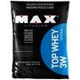 Top Whey 3w - 1,8 Kg - Refil - Max Titanium - Vitamina De Fr
