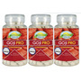 Kit 3 Unid Goji Pro 180 Comprimidos 800 Mg Nutrigold