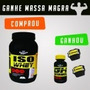 Iso Whey 900g Chocolate ( + Gh Anabol 120 Caps + Protetor )