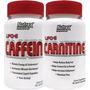 Kit Nutrex Lipo 6 Caffeine + Lipo 6 Carnitine - Black