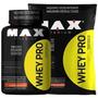 Combo Whey Pro - Max Titanium - Pote 1kg + Refil 1k5