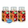 3 Farinha Seca Barriga Goji Berry 540 Cps Nutrigold Frete Gr