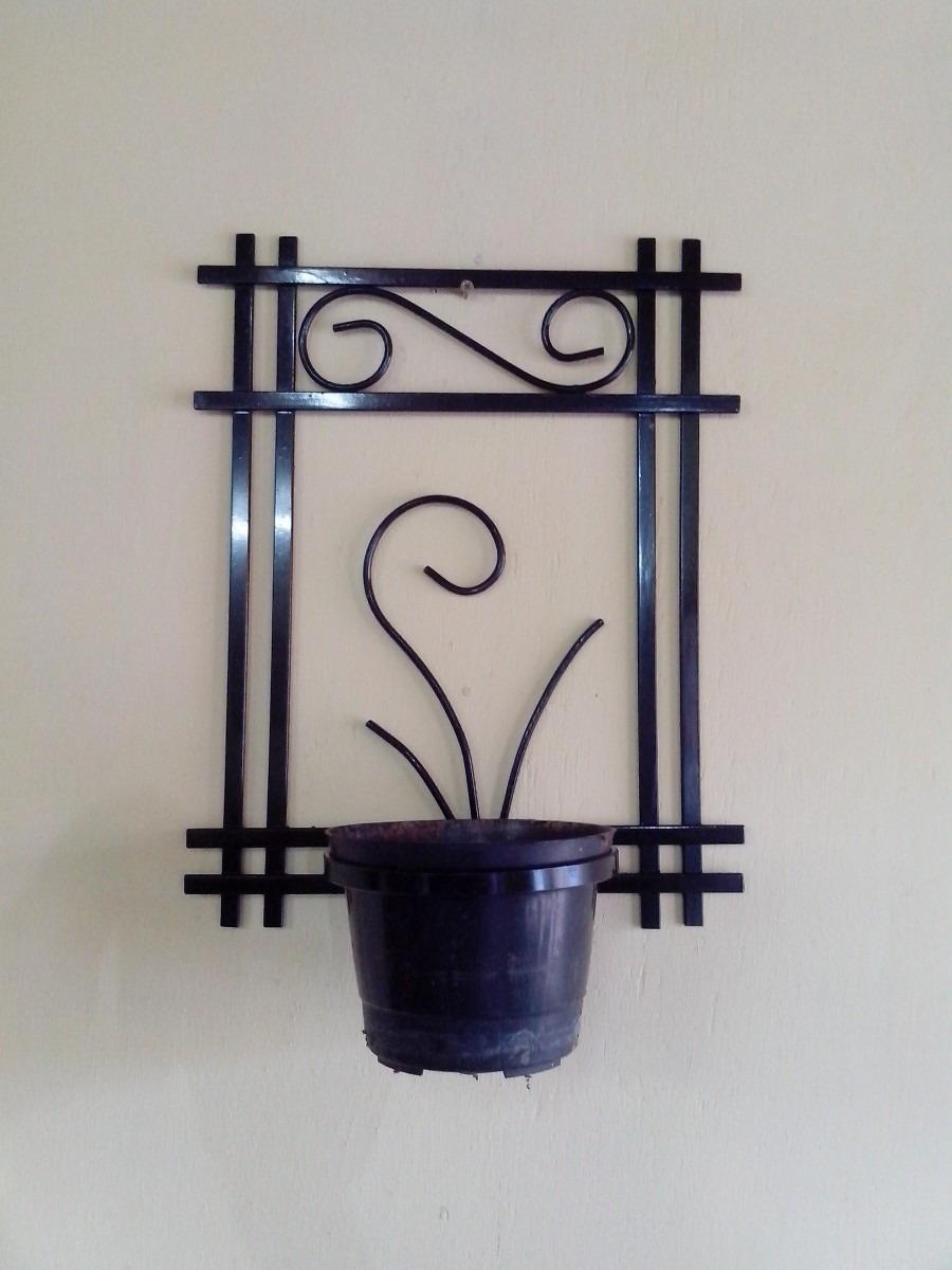 enfeites para jardins de ferro:suporte-enfeite-de-ferro-para-vasos-de-plantas-e-decoraco-12816
