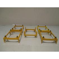 Suporte Para Cooler Socket 478 Amarelo De Presilha Branca