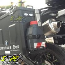 Suporte Galão P/ Bauletos Baú Adventure Box Universal Yamaha