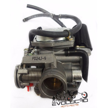 Carburador Dafra Laser Completo Com Afogador Automático.