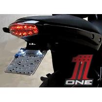 Eliminador Rabeta Suporte Placa Liso Para Moto Kawasaki Er6n