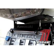 Suporte E Eliminador De Rabeta Moto Er6n Com Logo Kawasaki