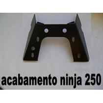 Suporte De Placa Fixo + Eliminador De Rabeta - Ninja 250