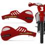 Protetor Mao Pro Tork 788 Universal Motocross Vermelho