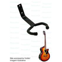Suporte P/ Violão Fixo P/ Parede - Guitarra Viola