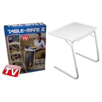 Table Mate - Mesa Multi Posições Dobrável 18x1 Igual Da Tv
