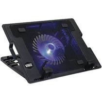 Base Suporte Cooler P/ Notebook Ate 17 Pol Ajuste De Altur