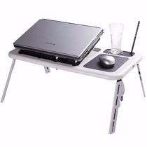 Mesa P/ Notebook E-table Portátil Cooler Regulável Cp73