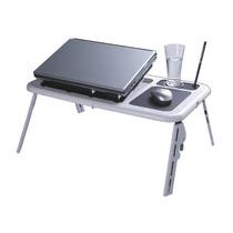 Mesa Portátil Notebook C/ Cooler Hub E-table Frete Grátis