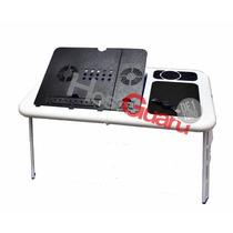 Mesa Portátil Notebook Cooler Hub E-table Cooler