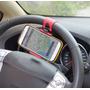 Suporte Veicular Celular Volante Gps Iphone Samsung Xperia