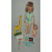 Antiga Boneca Susi Pediatra Brinquedo Estrela
