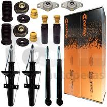 4 Amortecedores Cofap + Kits Suspensão Fiat Punto E-torq 10/