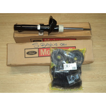 Kit 4 Amortecedor Motorcraft Monroe + Kit Batente Ford Ka