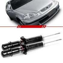 Par Amortecedor Dianteiro Honda Civic 2000 00 99 98 97 96