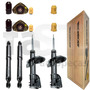 4 Amortecedores Monroe + Kits Fiat Marea Weekend Sx 1.8