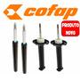 Kit 4 Amortecedor Gol G3 G4 - Cofap Produto Novo
