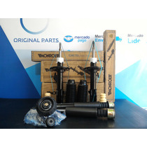 04 Amortecedores Kit E Coxins Completo Honda Fit + Bieletas
