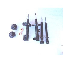 4 Amortecedores + 2 Kits Batente Vectra 97 A 05