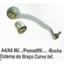 Bucha Braço Inferior Dianteiro Vw Passat Audi A4 A6 1 Linha