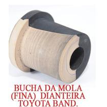 Buchas Da Mola Fina Traseira Toyora Bandeirante 8 Peças