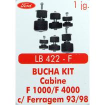 Bucha Kit Cabine F1000 F4000 Com Ferragem 93 Até 98