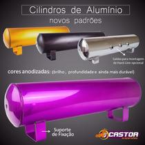 Cilindro De Ar Em Alumínio Anodizado Para Suspensão A Ar