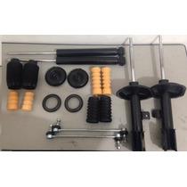 4 Amortecedor+ Bieleta +kits Amort +3 Coxins Motor C4 Pallas