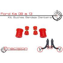 Ford Ka 08 A 13 - Kit Buchas Bandeja Em Poliuretano