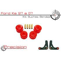 Ford Ka 97 A 07 - Kit Buchas Bandeja Em Poliuretano