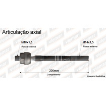 Braço Axial Articulador Setor New Fit City - Original Viemar
