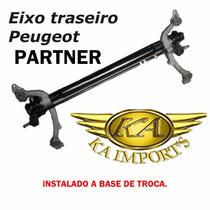 Eixo Traseiro Do Peugeot Partner Colocado C/ Rolamento