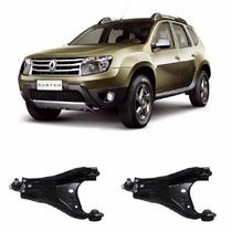 Par Bandeja Balança Dianteira C Pivo Renault Duster 2012....