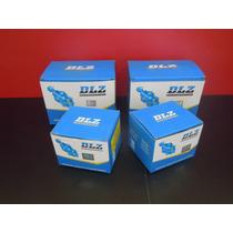 Pivo Sup.+ Pivo Inf. L200 4x4 Gl/gls (quadrada) (kit 04 Pçs)