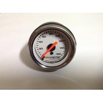 Manómetro Suspensão A Ar 52mm 160 Psi Fundo Branco