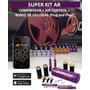 Super Kit Ar+bloco De Válvulas+compressor+instalação Grátis