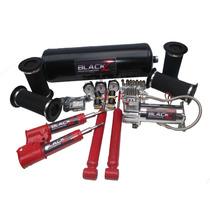 Kit Suspensão A Ar 06 Válvulas+compressor Corsa