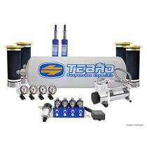 Suspenção Ar 8v Em1 Com Compressor 480 Peugeot 206/207