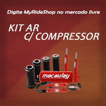 Kit Suspensão Ar 8mm Pick-up Corsa Com Compressor Myrideshop