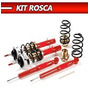 Suspensao Rosca Cross Fox Vw - Kit Rosca Completo