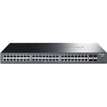 Switch Gigabit Web Smart 48 Portas Tp-link Tl-sg2452 4 Sfp