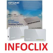 Hub Switch 8 Portas 10/100 Mbps Tl-sf1008d 8p Tp-link @